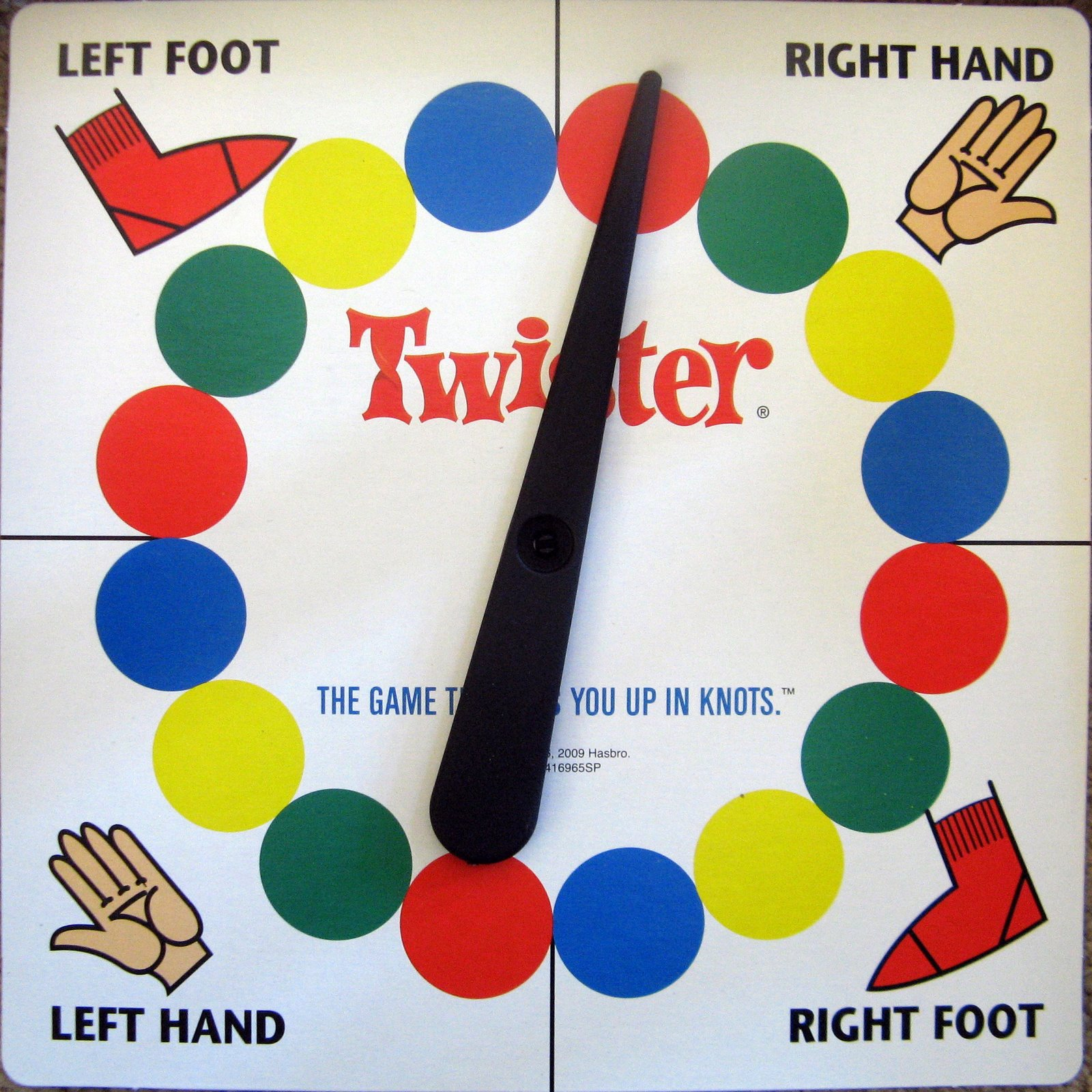 Twister Game Spinner Template Www Pixshark Com Images
